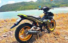 Sadis! Padukan Komponen dari Tiga Moge, Yamaha MX King Langsung Bengkak