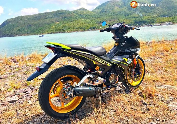 Upgradenya pakai part Kawasaki ZX-10R, Yamaha R6 dan Aprilia RSV4