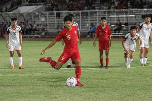 Tekad Penyerang Timnas U-16 Indonesia Jelang Kembali Hadapi UEA