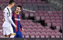 Dalam Semusim, Messi dan Ronaldo Kompak Tumbangkan Rekor Pele