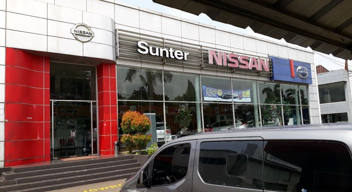 Dealer Nissan-Datsun Sunter, Jakarta Utara, yang dirumorkan menjadi tempat dimana New Livina bisa di