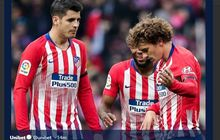Hasil Liga Spanyol - Griezmann Dicemooh, Valencia ke Liga Champions