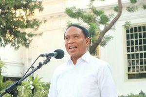 Zainudin Amali Resmi Jadi Menpora Kabinet Jokowi-Amin, Isu Sepak Bola Jadi Topik Utama