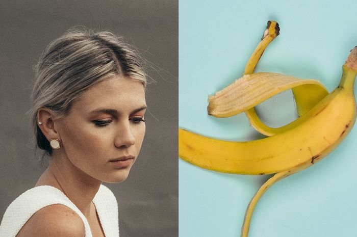 Get rid of gray hair with banana peels, here's how