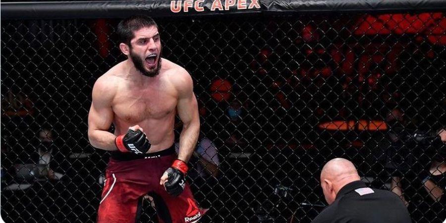 Jagoan Paling Gawat di UFC! Dustin Poirier Kelabakan di Tangan Islam Makhachev