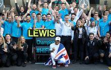 Lagi Ramai 10 Year Challenge, Ini Prestasi Lewis Hamilton di F1