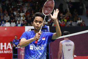 Hasil Indonesia Masters 2020 - Tumbangkan Penakluk Lin Dan, Anthony Melenggang ke Final