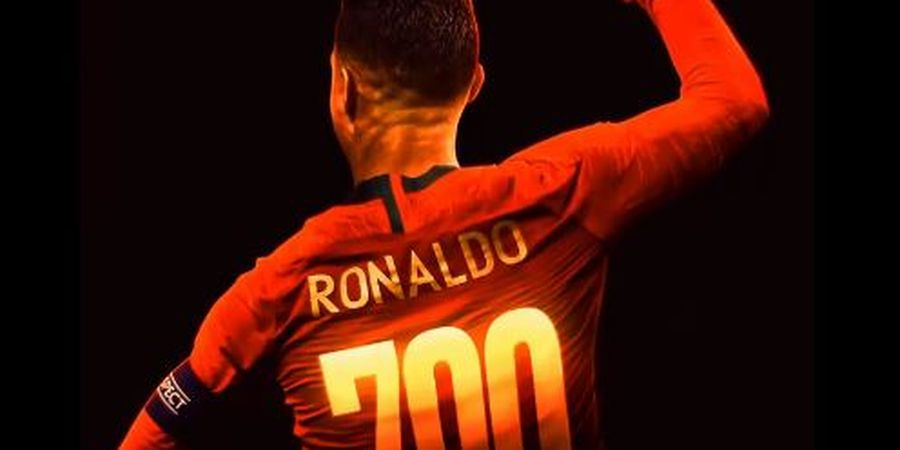 VIDEO - 700 Gol Profesional Cristiano Ronaldo dalam Satu Video