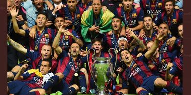VIDEO - Barcelona Bakar Mimpi Juventus Raih Treble Winners di Final Liga Champions 2015