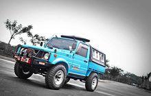 Pengusaha Bumper Sukses Modifikasi Suzuki Jimny Jadi Lebih Keren