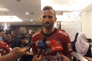 Ilija Spasojevic Berhasil Mewujudkan Mimpi bersama Bali United