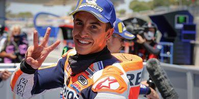 MotoGP Catalunya 2020 - Ketika Marc Marquez Lakoni Temu Kangen dengan Motornya