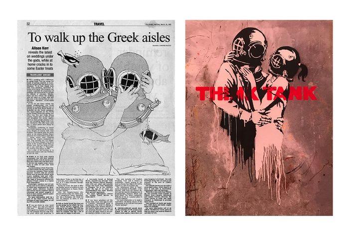 Karya Cinders McLeod dan Banksy