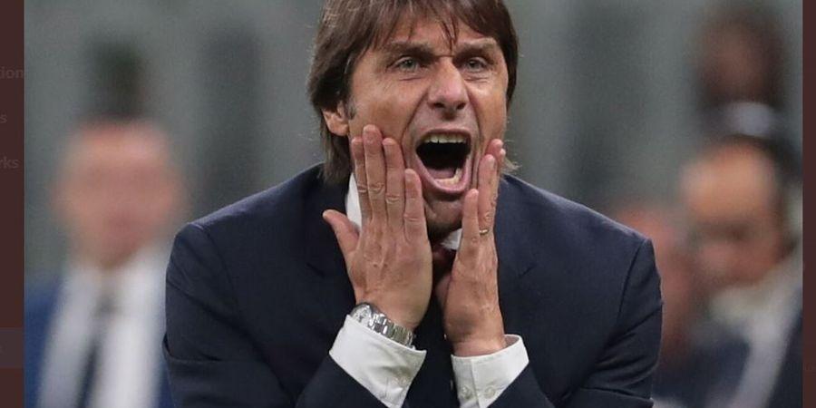 Antonio Conte Sebut AC Milan Menang karena Sedikit Beruntung