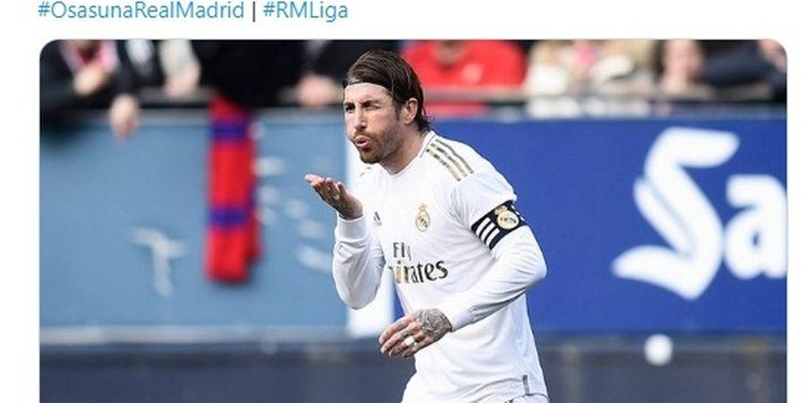 Real Madrid Vs Man City - Ramos Susah Bayangkan Nestapa Lawan