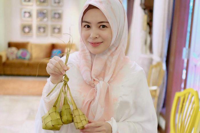 Ayana Jihye Moon merayakan Lebaran di Indonesia untuk pertama kalinya