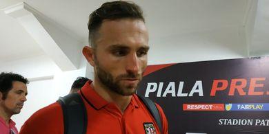 Spasojevic Tetap Sambut Melantainya Bali United di Bursa Saham meski Tak Paham