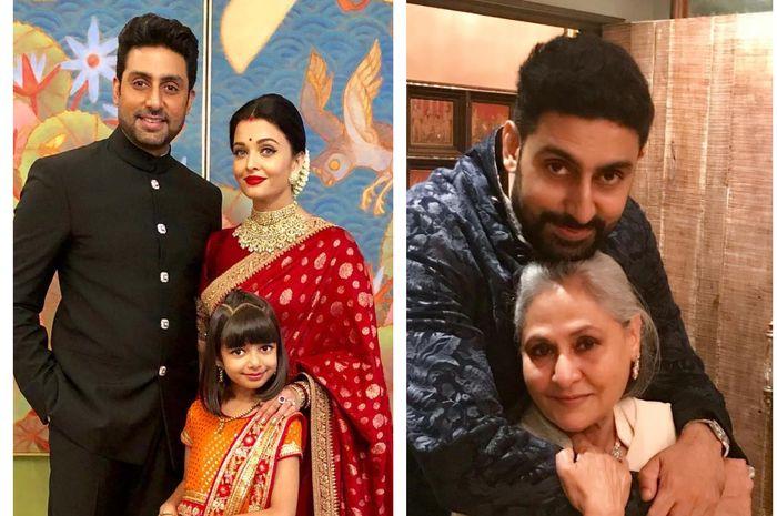 Jawaban Abhishek Bachchan ketika ditanya lebih menakutkan istri atau ibu kandung