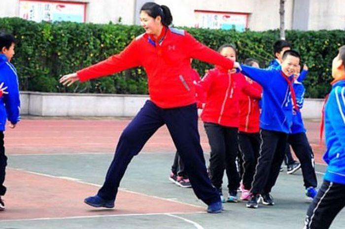 Zhang Ziyu, bocah 11 tahun yang bisa kalahkan tinggi LeBron James