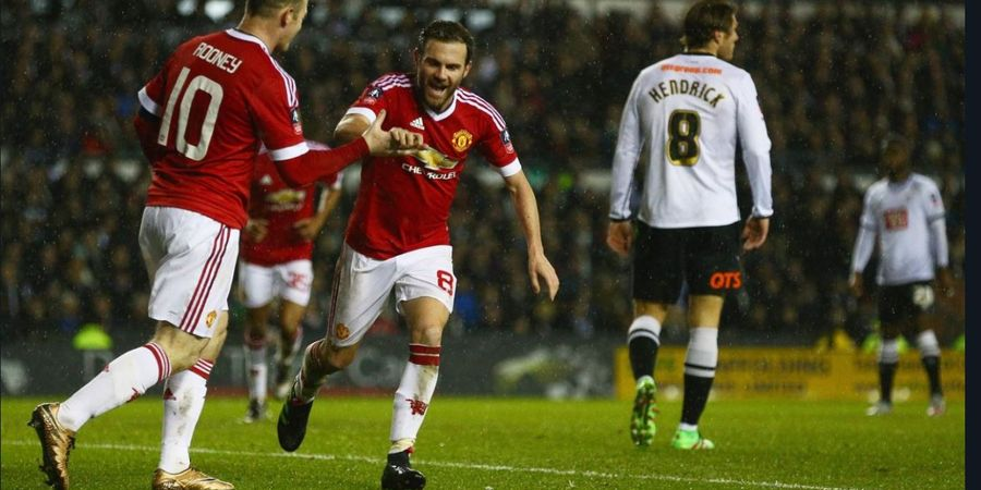 VIDEO - Gol Tembakan Melengkung Rooney, Kenangan Lawatan Terakhir Man United ke Derby