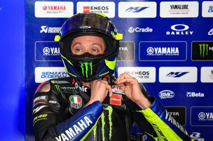 Valentino Rossi saat berada di Circuit of the Americas untuk menjalani seri MotoGP Americas 2019.