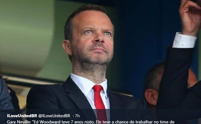 Wakil Ketua Klub Manchester United, Ed Woodward