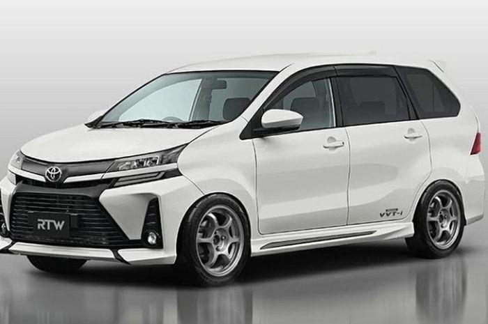 Modifikasi digital Toyota Avanza terbaru