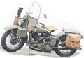 Motor Legend Dan Penuh Sejarah Harley Davidson  42WLA  Dipakai Perang Dunia Ke-2