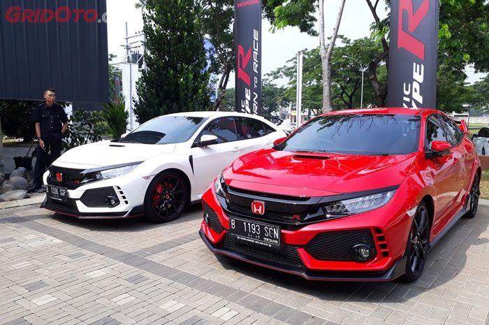Honda Civic Type R jadi salah satu produk CBU dari Honda Prospect Motor