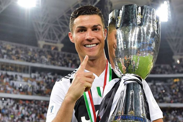 Megabintang Juventus, Cristian Ronaldo.