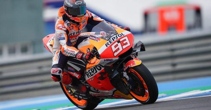 Hasil MotoGP Jerman 2021 - Raja Sachsenring Tak Mau Dikudeta, Marc Marquez Menang