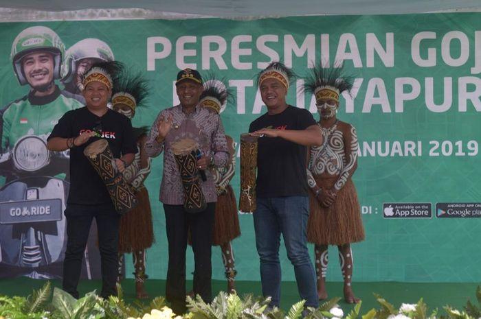 Peresmian GOJEK di Jayapura, Papua