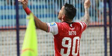 Gol Cepat Alberto Goncalves Bawa Madura United Ungguli Borneo FC