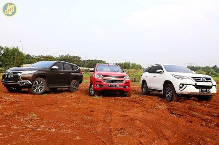 Tiga Big SUV terlaris di Indonesia