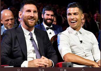 Lionel Messi Mulai Berkomentar soal Kemungkinan Satu Tim dengan Cristiano Ronaldo