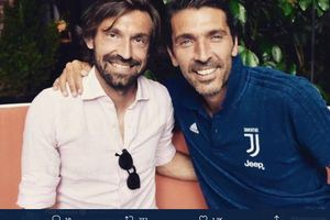 Jadi Manajer Juventus, Bayaran Kecil Pirlo Sudah Kalahkan Milik Buffon