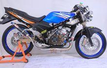 Modifikasi Motor Kawasaki Ninja 150R, Tampang Klimis Mesin Bengis!
