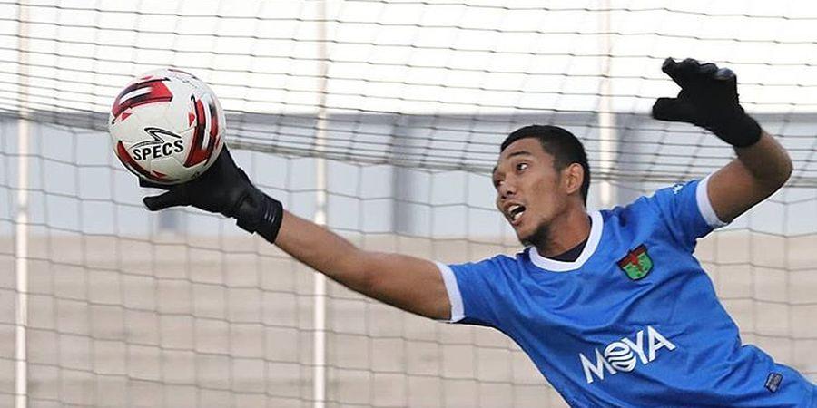 Kembali Menggeliat, Persita Tangerang Rekrut Eks Kiper PSS Sleman