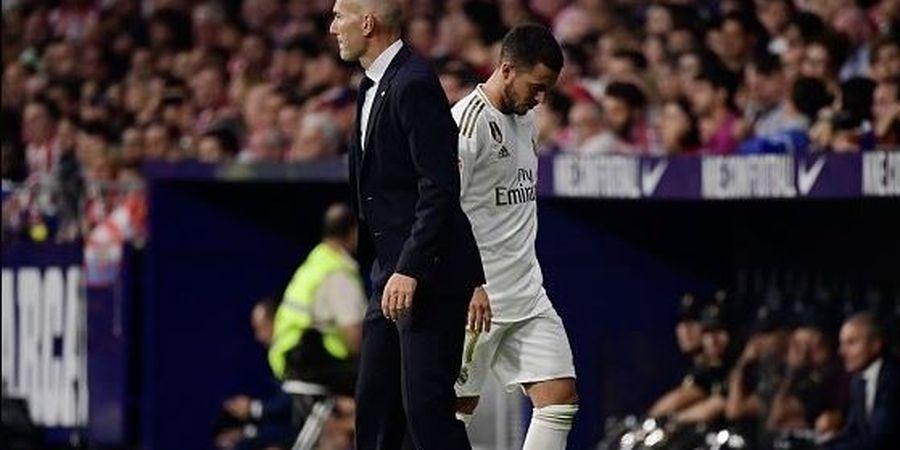 Hazard Akan Kembali, Zidane Minta Suporter Tak Berharap Banyak