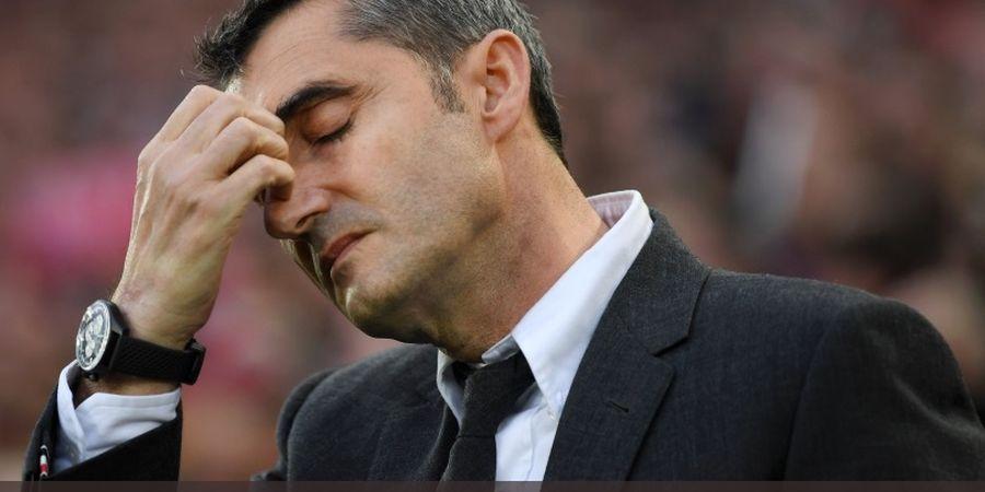 Walau Kecewa, Barcelona Kini Urung Pecat Ernesto Valverde