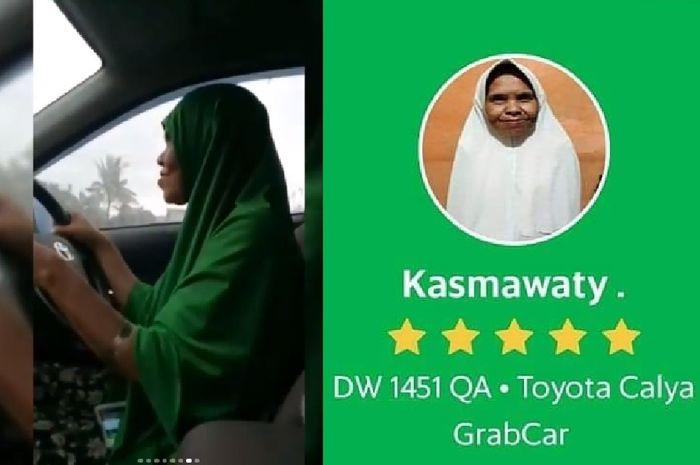 Kisah nenek jadi driver taksi online di Makassar