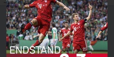 Hasil DFB Pokal, Bayern Muenchen Jumpa RB Leipzig di Partai Final