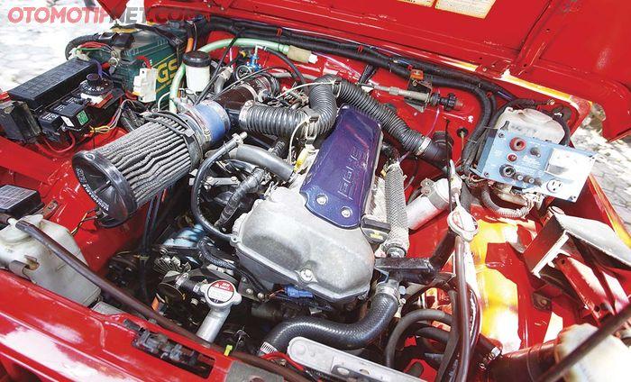 Mesin Jimny Sierra dapat tenaga segar dari mesin Suzuki Swift