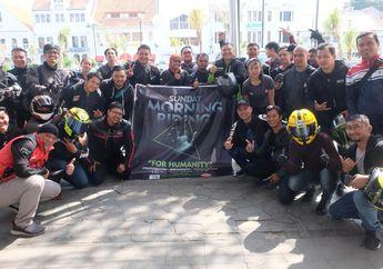 Mantap! Komunitas New Ninja Rider Gelar Sunmori Sekaligus Bantu Korban Tsunami