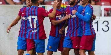 Lionel Messi Belum Balik, Pelatih Barcelona Puas dengan Duet Depay-Griezmann