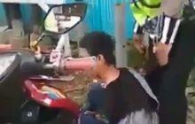 Klarifikasi Polisi, Pemotor Remaja Diborgol Tidak Lakukan Pemukulan!