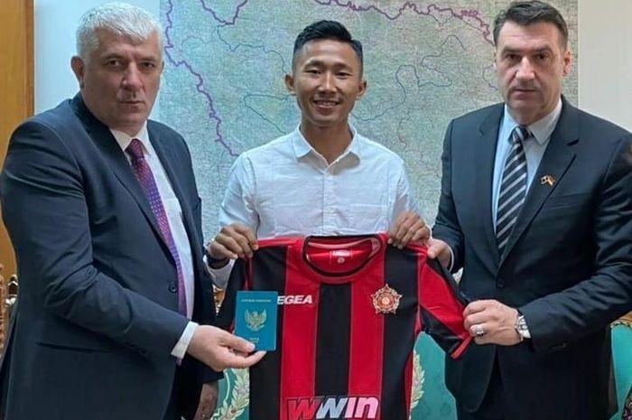 Miftah Anwar Sani resmi bergabung dengan klub Bosnia dan Herzegovina, FK Sloboda Tuzla.