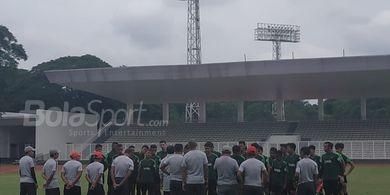 Timnas U-22 Indonesia Kembali Petik Hasil Imbang di Laga Uji Coba