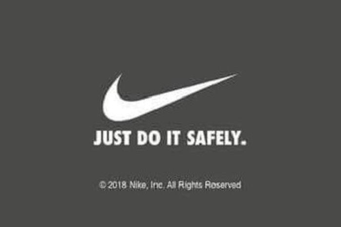 Instruksi cara membakar produk dari Nike