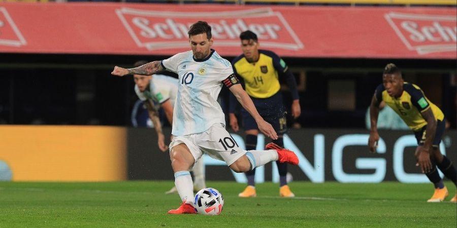 Tambah Satu Gol, Lionel Messi Masih Kalah dari Pemain Bangkotan Jepang